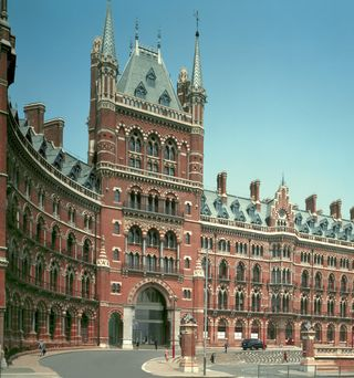 St Pancras Grand Entrance