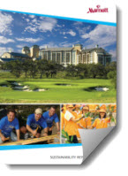 Cover of Marriotts Sustainability Report