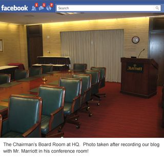 Marriott Boardroom