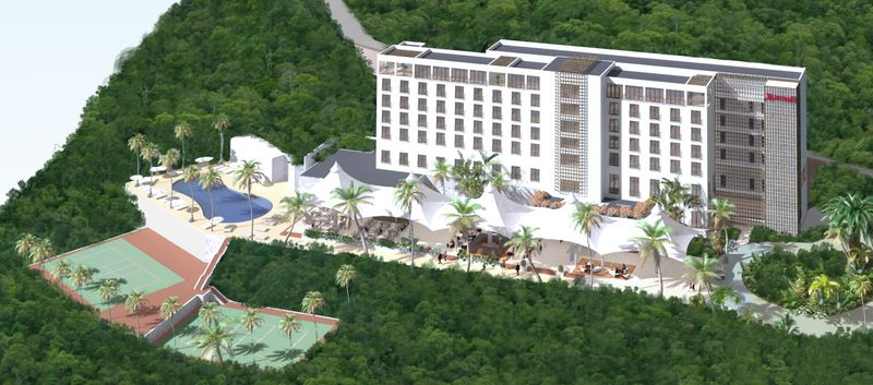 Marriott Haiti hotel rendering