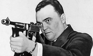 FBI director J Edgar Hoover