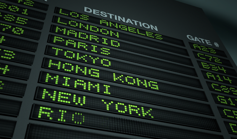 Destination Board