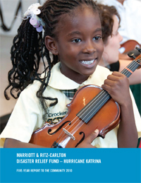 Whitney in 2nd grade violin class
