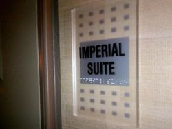 Marriott Marquis Imperial Suite