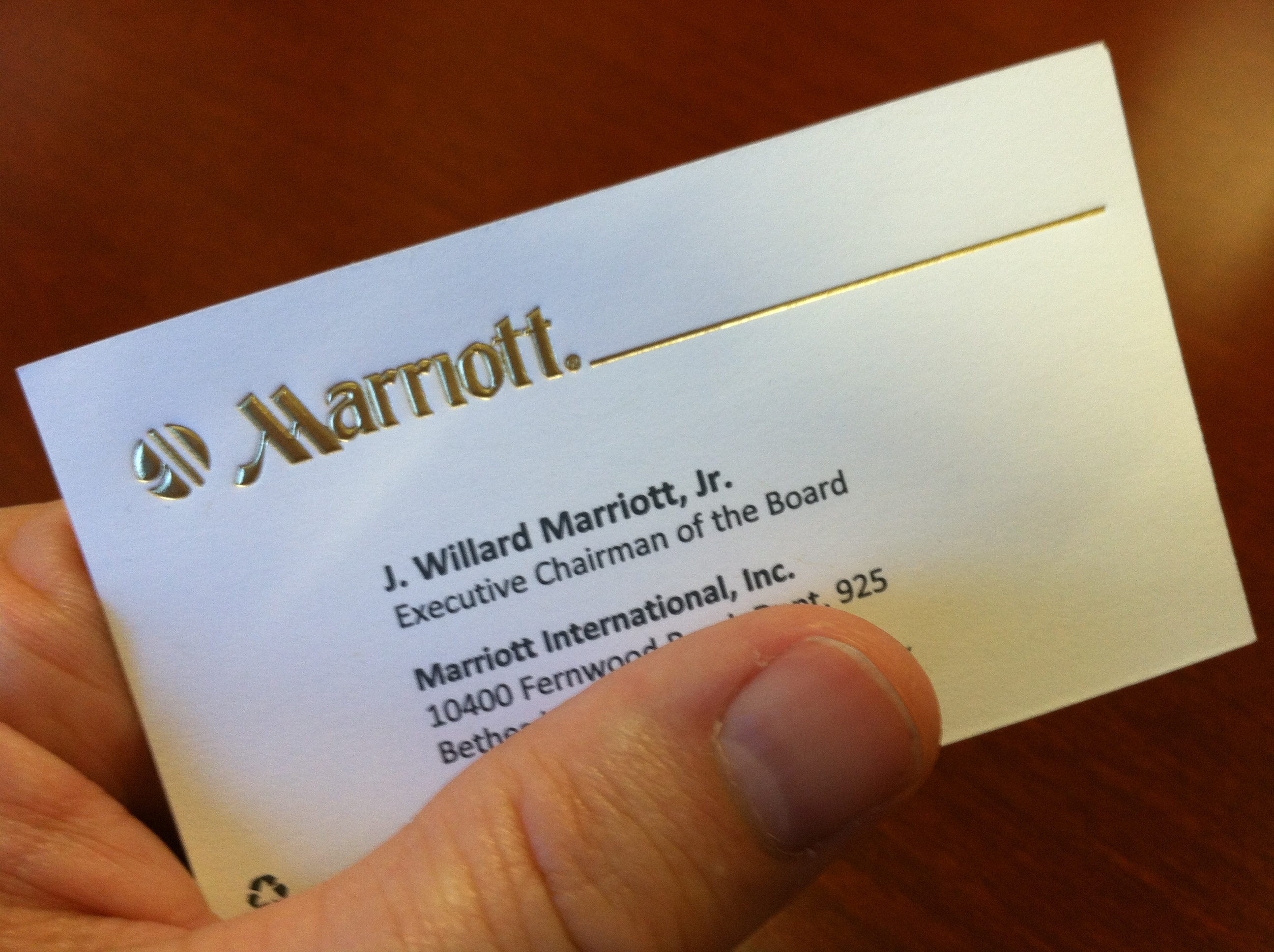 What\'s an Executive Chairman? - Marriott on the Move