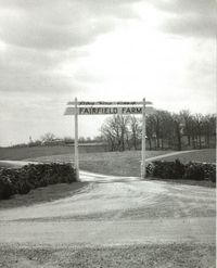 Fairfield Gate Sign