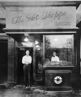 Hot Shoppe opened 1927, Washington, DC