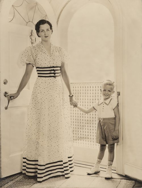 Alice and Bill Marriott in 1936