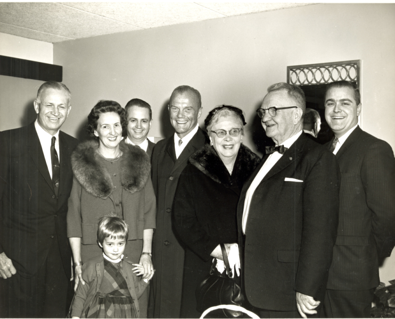 Marriotts and John Glenn 1962