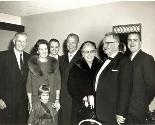 Marriotts and John Glenn Family (2)