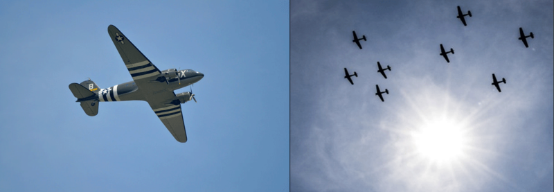 VE-Day flyover