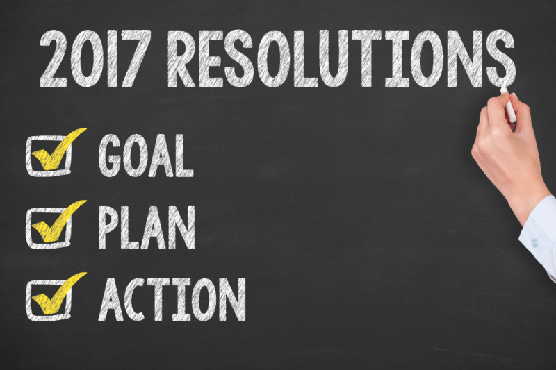 2017 New Year Resolution