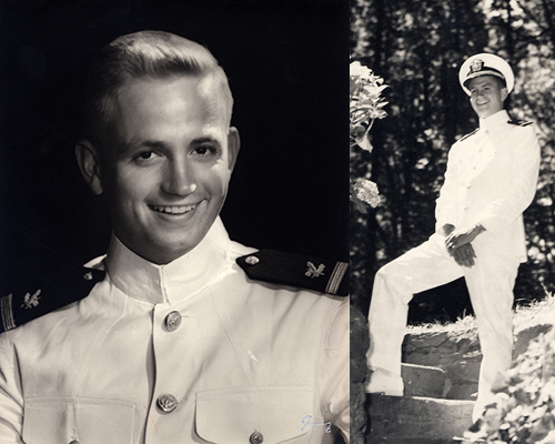 Bill Marriott in Navy uniform in 1924